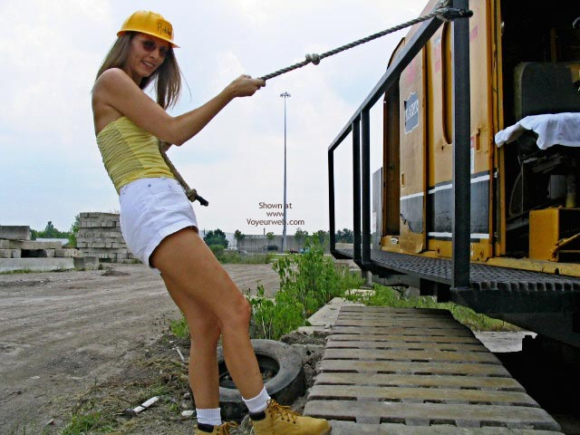 Pic #1Robin Playing With Heavy Equipment  1