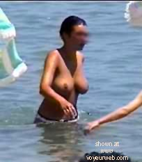 "Pic #1 ""Sis At Nude Beach"""