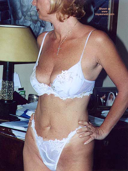 Pic #1 Patrizia In & Out White Lingerie