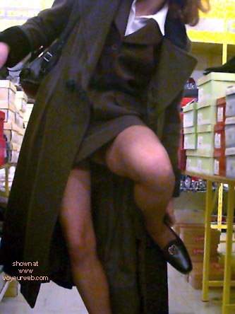 Pic #1 Xeliane in a Shoe Shop