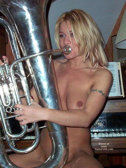 Pic #1 Blowing A Large Instrument !