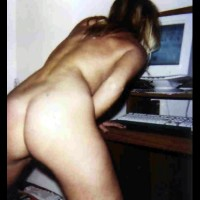Cindy viewing Voyeurweb