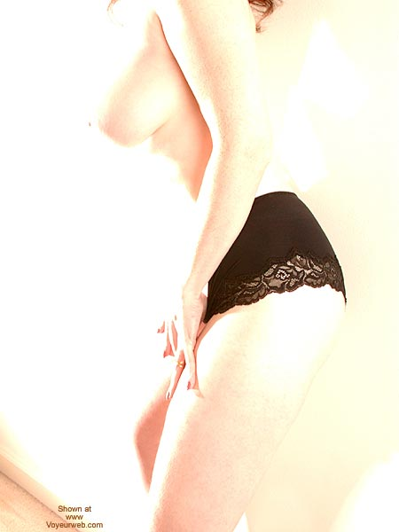 Overexposed - Big Tits , Overexposed, Body Shot With Black Lace Panties, Big Tits