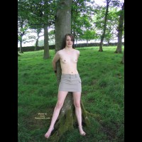 Slavegirl Penny In The Woods