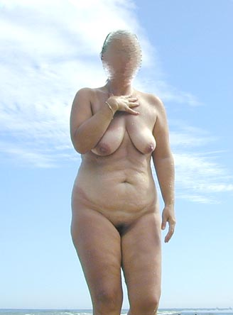 Pic #1 Wife On Naturist Beach