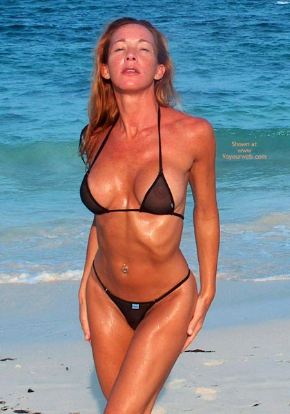 Pic #1 Kim4kate Black On The Beach