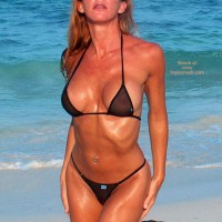 Kim4kate Black On The Beach