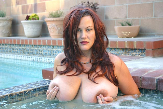 Spa Mama - Big Tits, Long Hair , Spa Mama, Hot Tub, Big Tits, Long Brown Hair, Push Button, Large Breast