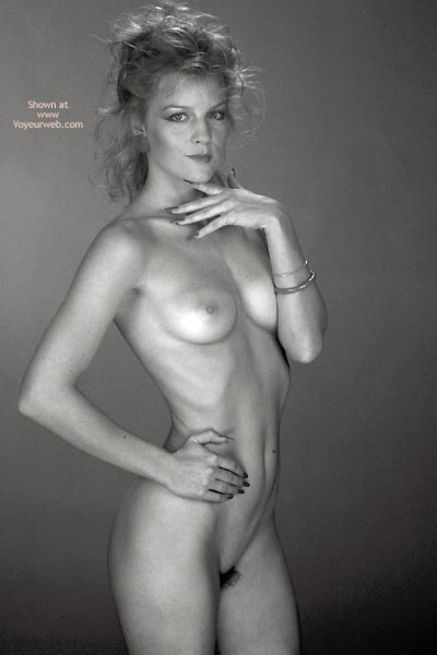 Pic #1 Gina Nude In Black And White