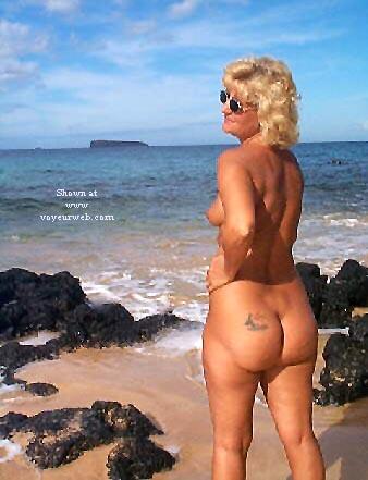 Pic #1 Ellen At The Beach - Pt 2
