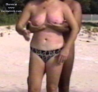 Beach grope