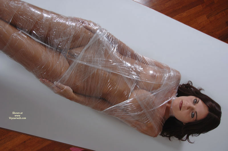 Female domination saran wrap