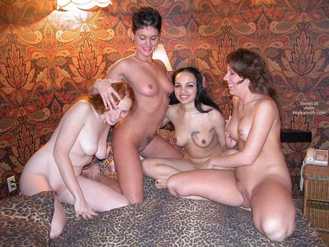 Pic #1 *Gg Rhonda  & 3 Girl Playmates