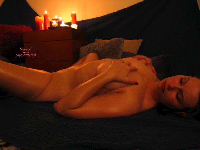 Candle Scene - Spread Legs , Candle Scene, Spread Legs