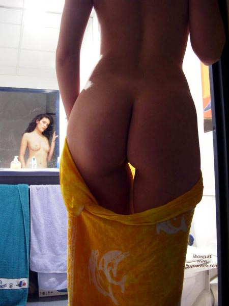 Mirror Nudity - Nudity, Reflection , Mirror Nudity, Long Distance Reflection, Artsy Shot, Boobs And Butt