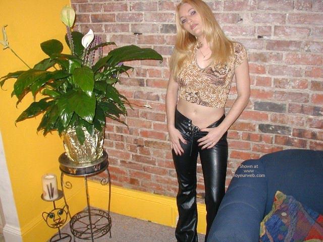 Pic #1 Olivia'S Tummy, Tits, Leather Pants
