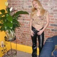 Olivia'S Tummy, Tits, Leather Pants