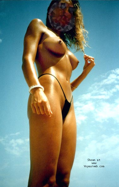Pic #1 mi mujer en la playa 5