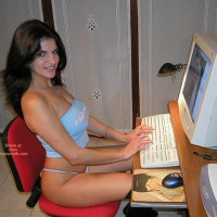 Vanessa-Working At My Pc