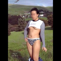 Asian wife in Public (BLUR)