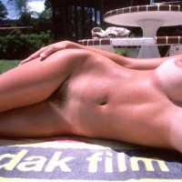 naked snorkler