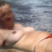 Wife in the beach