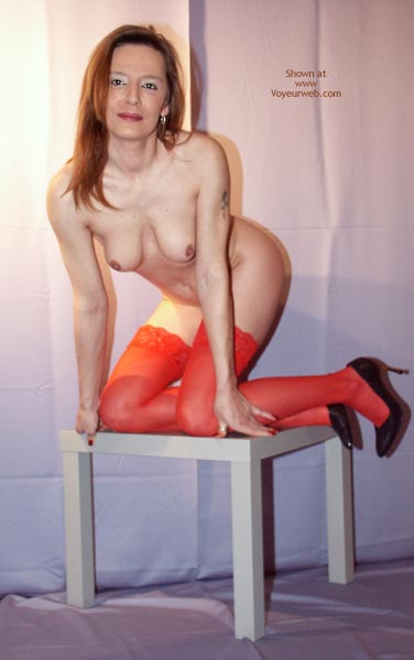 Pic #1 Susy Rocks In Red Stockings