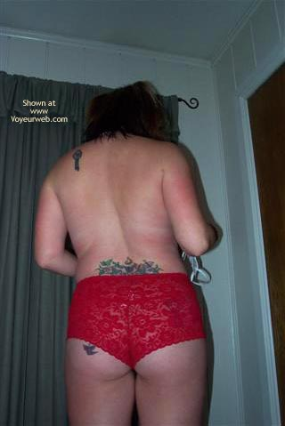 Pic #1 Lady In Red Lace