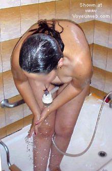 Pic #1 *WB Maelle under shower part 2