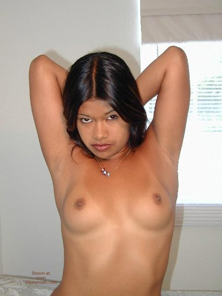 Small Perky Breasts , Small Perky Breasts, Black Hair
