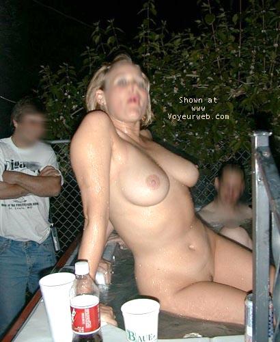 Pic #1 night tubbing