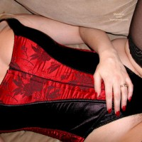 Francesca'S Red Corset