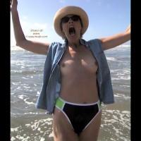 Bobbi at the Beach