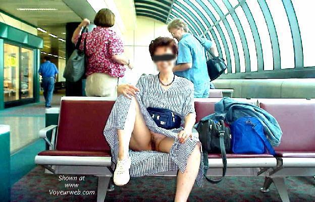 Pic #1 Malita at the airport