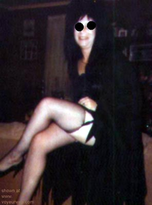 Pic #1 Crazy      Cat Elvira