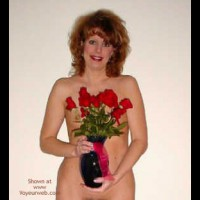 Gorgeous Wife Gets Flowers