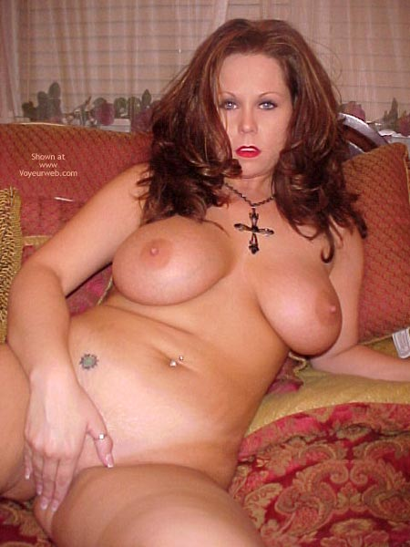 Big Boobs And Covering Pussy - Big Tits, Navel Piercing , Big Boobs And Covering Pussy, Pubic Tatoo, Big Tits, Belly Button Ring, Curvy Mature