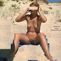 MARTA at the nude beach