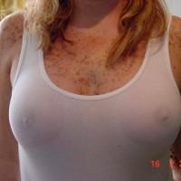Nipples Errect Through Shirt - Freckles, Hard Nipple , Nipples Errect Through Shirt, Chest Freckles, Wet Tee Shirt, Hard Nipples, Peek-a-boo