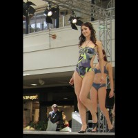 A Catwalk At The Mall....