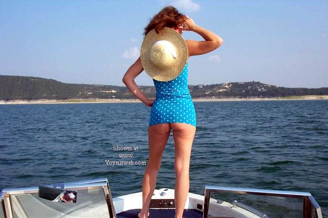 Pic #1 Denise uncovered 3 - Adventures at Lake Travis