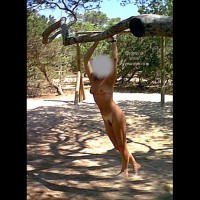 nude on the playground