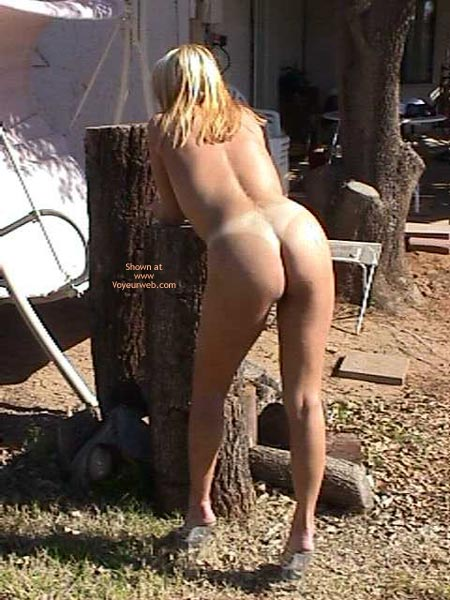 """Pic #1 Slut with """"M"""" on her ass"""