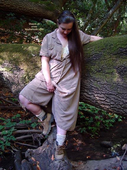 Pic #1 Vicki'S Hairy Bush Outside