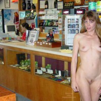 Nude At Local Shop - Small Tits , Nude At Local Shop, Small Tits, Flashing In Store