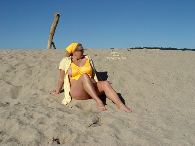 Pic #1 Curvy Kay : Carmel River Beach