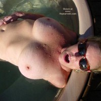 Big Boobs - Big Tits, Huge Tits , Big Boobs, Water Sports, Large Boobs, Wet Pool Boobs, Full Body Nude, Pink Aerolas