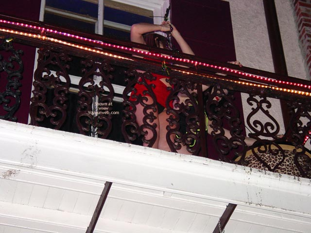 Pic #1 Balcony Upskirts In New Orleans
