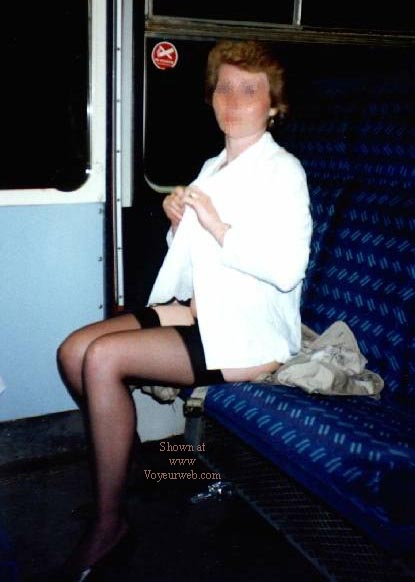 Pic #1 Tracey NIP on the Train