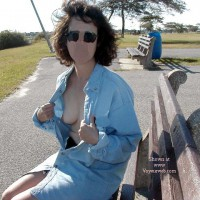 Northeast Wife Nude In the Park Pt2